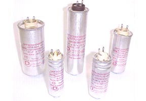 Capacitors For Discharge Lamps
