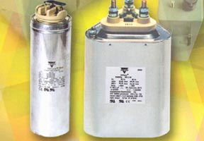 VISHAY ESTA Low Voltage Power Capacitors And Plants with power factor controllers